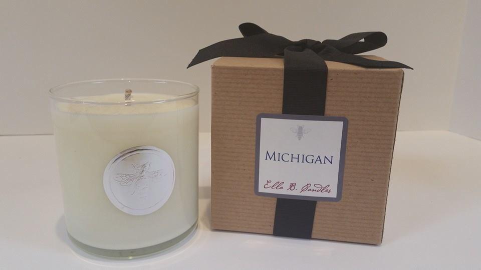 """Michigan"" Candle"