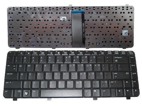 HP Compaq 510 511 515 610 615 Series Black Laptop Keyboard