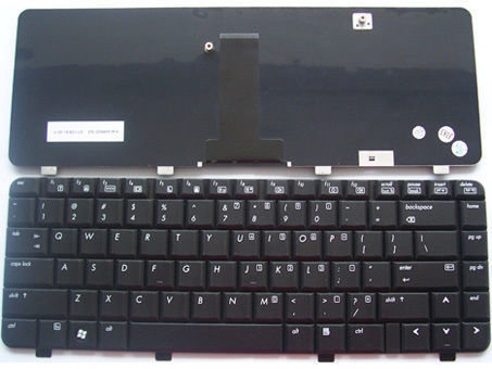 Hp 500 520 Series Black 438531-001 V0611BIBS1-US Laptop Keyboard