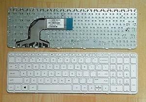 Hp Pavilion 15 15E 15N Series white Laptop Keyboard