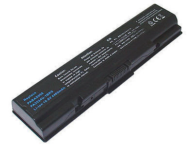 Toshiba satellite a200, m300, L450, L500 Series pa3534u pa3682u pa3727 Laptop Battery