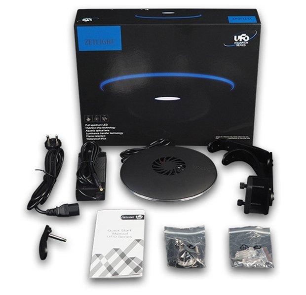 Zetlight UFO ZE8600 Black LED Light Unit with Wifi
