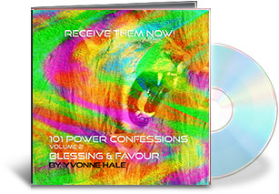 101 Power Confessions - Volume 2 - Blessings & Favour CD Hardcopy 00002