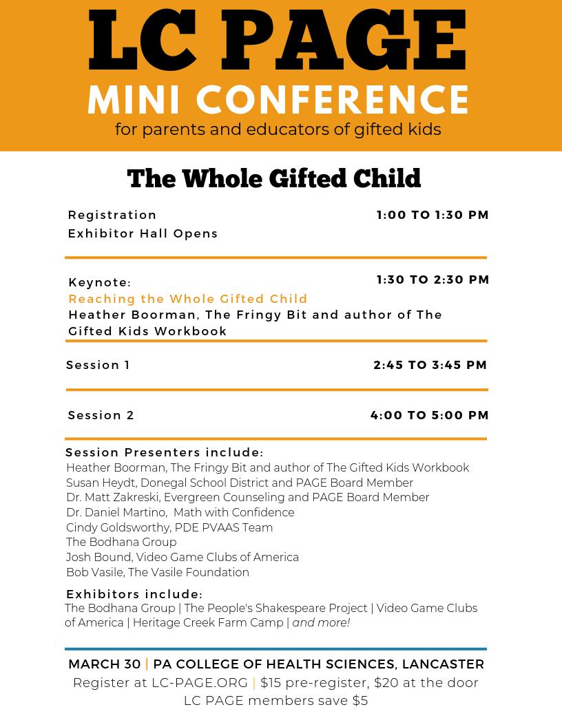 Mini-Conference Registration
