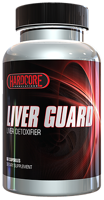 HARDCORE FORMULATIONS - LIVER GUARD