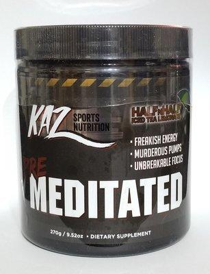 KAZ SPORTS NUTRITION - PRE MEDITATED (POWERFUL FORMULA)
