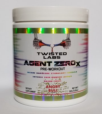TWISTED LABS - (LIMITED TIME ONLY - MASSIVE PRICE DROP!!!) AGENT ZERO X - MEGA DOSED FORMULA! EXTREMELY POWERFUL!!