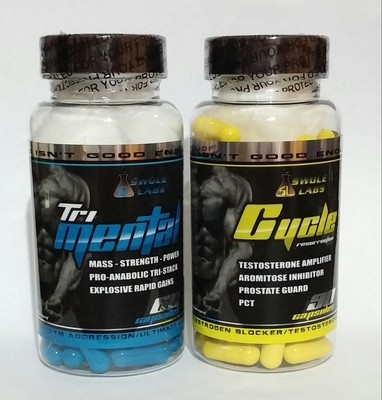 SWOLE LABS - TRI-MENTAL & CYCLE RESURRECTION PCT - EXTREME 2 PACK COMBO!!