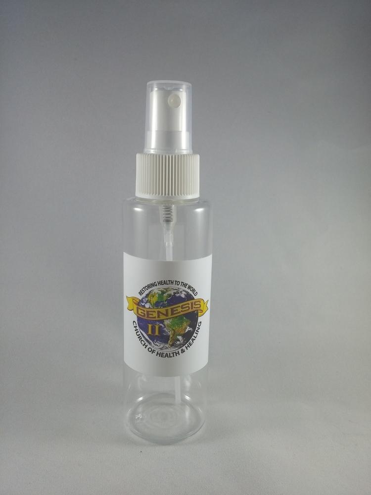 Genesis II Church 4 oz Plastic spray bottle