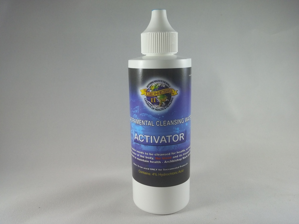 Sacramental Cleansing Water HCL (Activator) - 4 oz