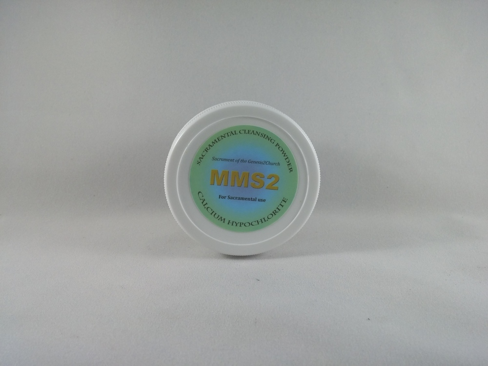 Sacrament Cleansing Powder MMS2 (Calcium Hypochlorite)