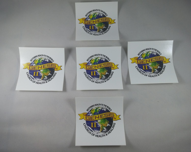 Genesis2church Logo Vinyl stickers