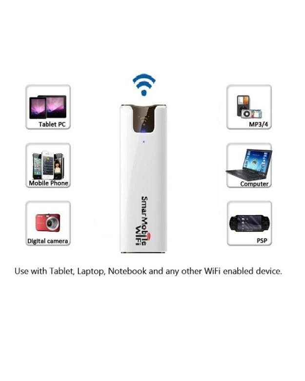 Mobile Wi-Fi Router / Pocket MIFI & Power Bank - Pay on Delivery Nationwide