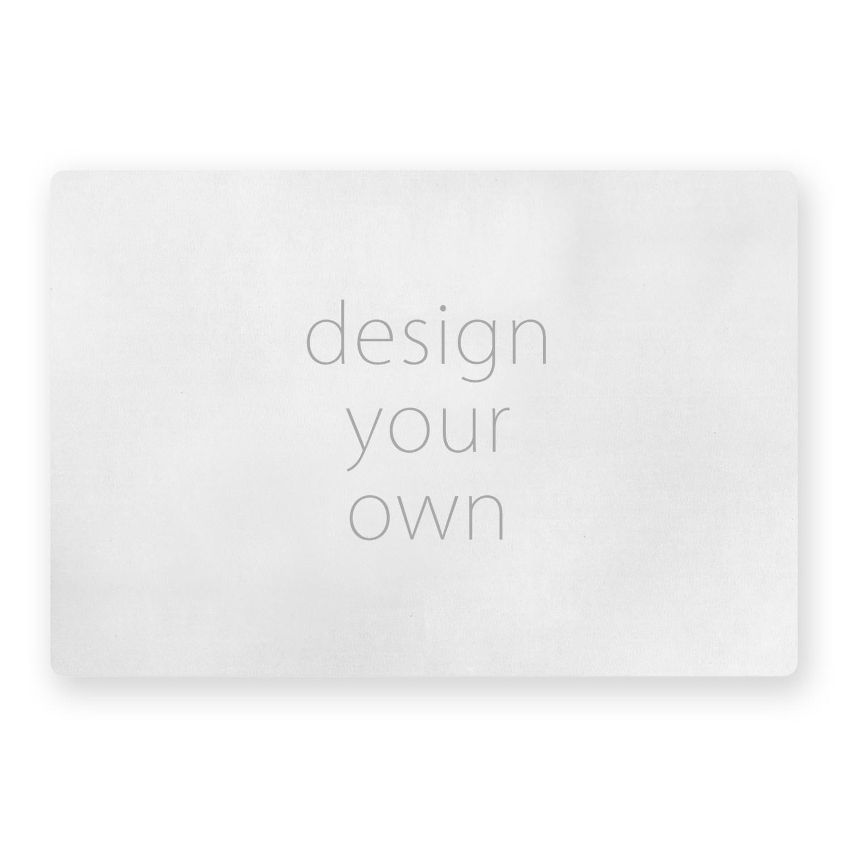 客製 滿版 印花 矩形 止滑 極短絨 大地墊 Square slip mat