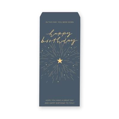 [設計圖樣] 煙火 插畫 生日 信封 Fireworks Birthday Envelope