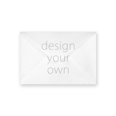 客製 滿版 印花 蝴蝶式 信封 Butterfly envelope