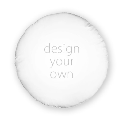 客製 滿版 印花 圓形 可拆式 抱枕 Round zipper pillow