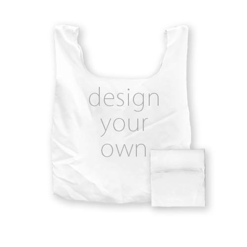 客製 滿版 印花 口袋 收納 購物袋 Pocket Storage Shopping Bag
