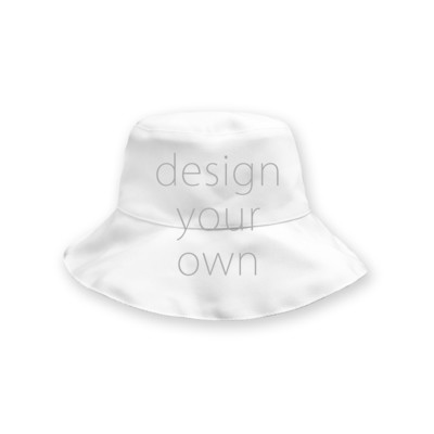 客製 滿版 印花 雙面 遮陽 漁夫帽 Double sided shade fisherman hat