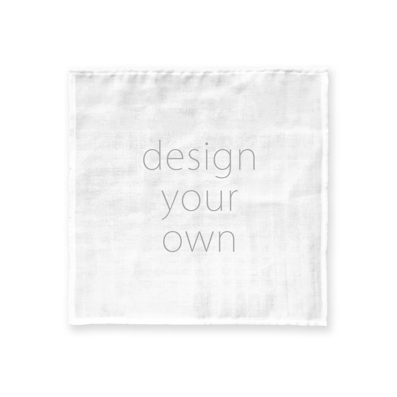 客製 滿版 印花 純棉 手帕 Cotton Handkerchief