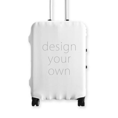 客製 滿版 印花 行李箱 布套 Luggage Cover