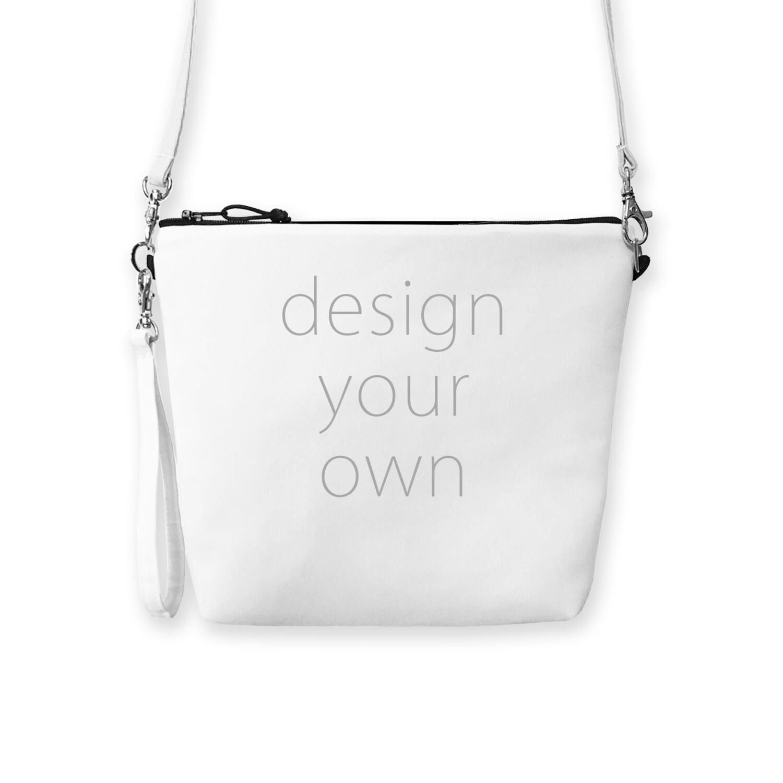 客製 滿版 印花 手拿 斜背 拉鍊 曼谷包 Dual-use zipper Bangkok bag