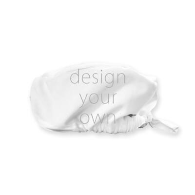 客製 滿版 印花 綁繩 衛生 工作帽 Hygienic Work Cap