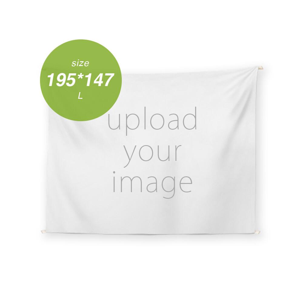 客製 滿版 印花 掛幔 L(195*147) Tapestry