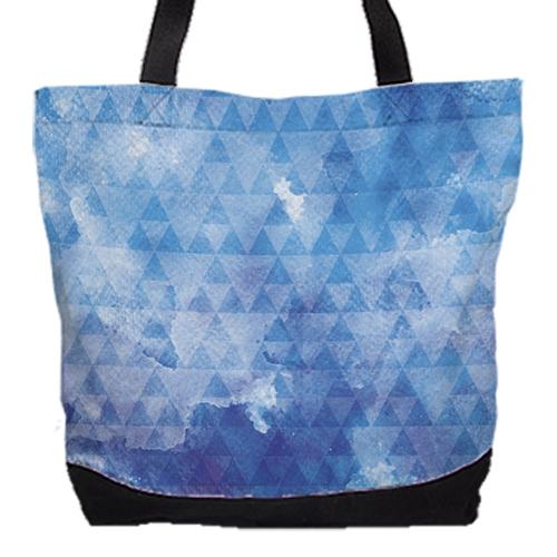 [water triangle] 城市托特包 Urban tote bag