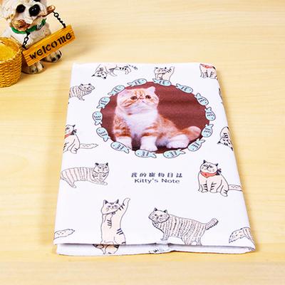 我的寵物日誌布書衣筆記本
