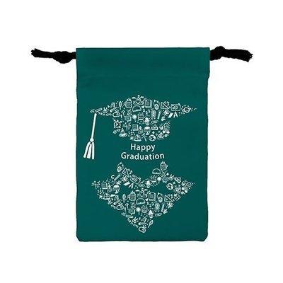 [畢業快樂-祝福話語]輕便版小束口袋 Happy graduation(Words) Light drawstring bag