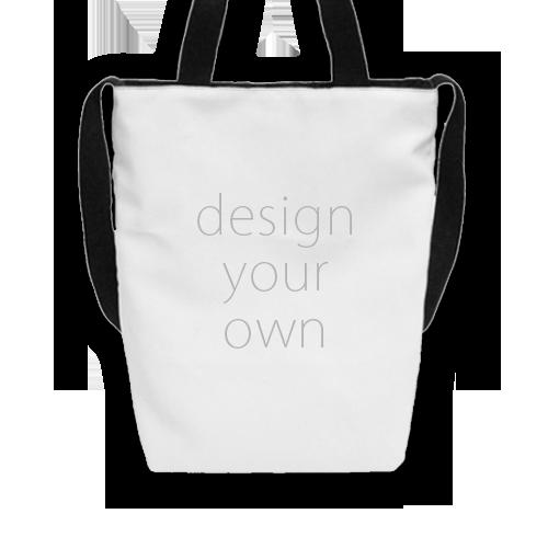 客製 滿版 印花 肩背 兩用 有底 T型包 T-shaped Hand/shoulder bag