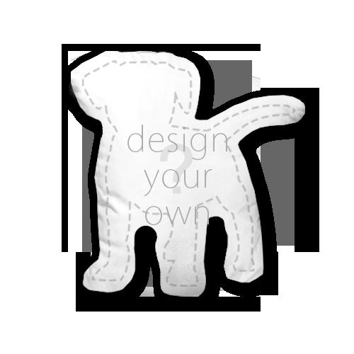 客製 滿版 印花 形體 不可拆 抱枕 Shape Non-detachable pillow
