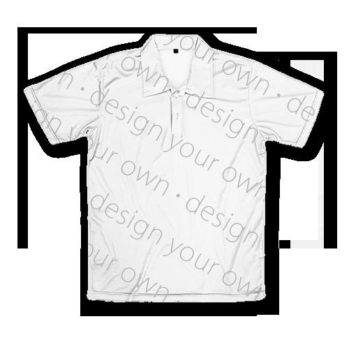 客製 滿版 印花 男版 中性 短袖 POLO衫 Neutral Polo Shirt