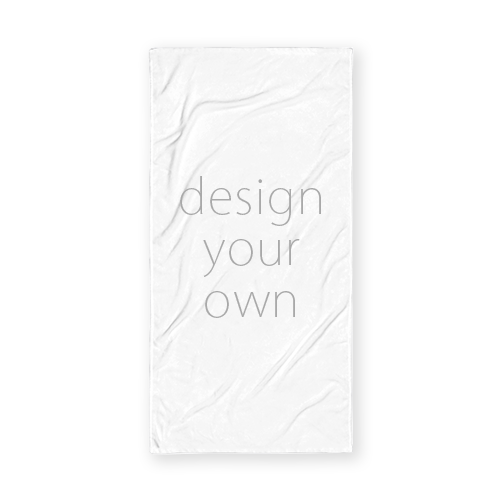 客製 滿版 印花 長形 海灘巾 Long beach towel