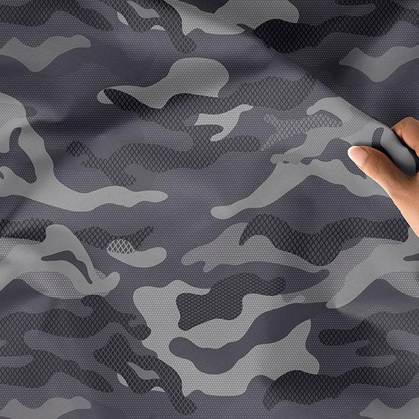 [設計圖樣] 灰階 迷彩 網狀 紋路 Gray camouflage