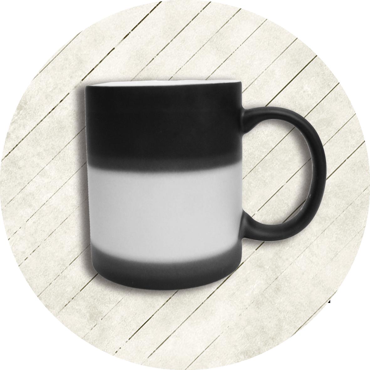 陶瓷變色馬克杯