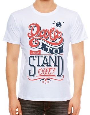 Dare to stand out   中性字T