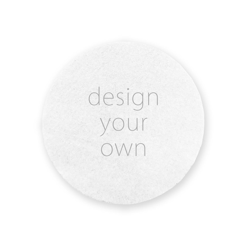 客製 滿版 印花 圓形 止滑 隔熱墊 杯墊 Circle Insulation Slip Pad