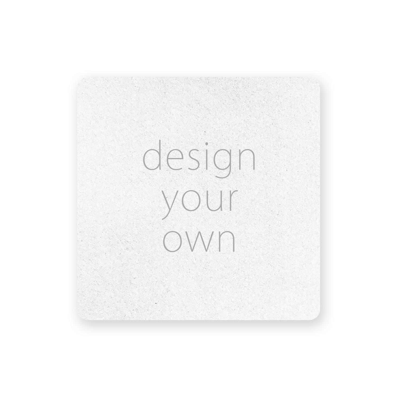 客製 滿版 印花 方形 止滑 隔熱墊 杯墊 Square Insulation Slip Pad