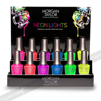 Morgan Taylor Neon Lights Display 12 pc. 51228