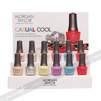 Morgan Taylor Casual Cool Display 12 pc. 51213