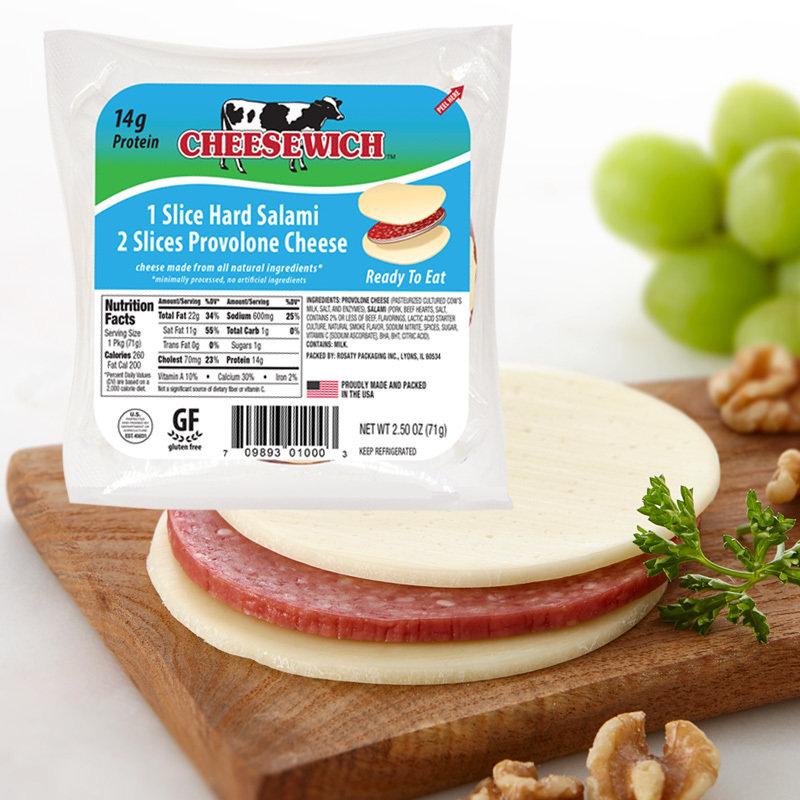 Provolone & Hard Salami