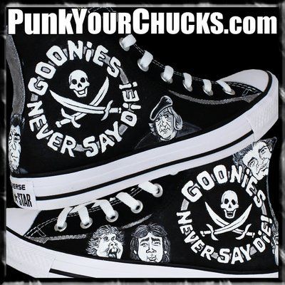 7c220befe4ee Goonies Custom Converse Sneakers