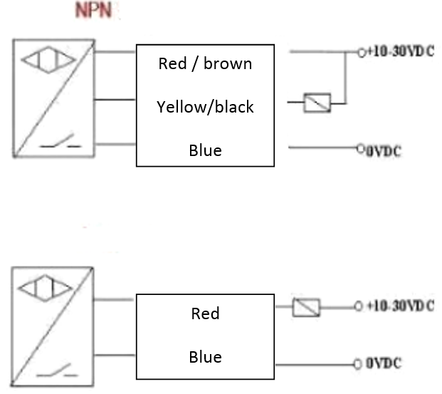Wiring Diagram Proximity Switch : Inductive proximity sensor wire wiring diagram get