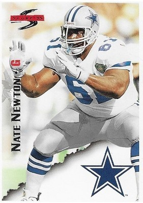 Newton, Nate / Dallas Cowboys   Score #87   Football Trading Card   1995