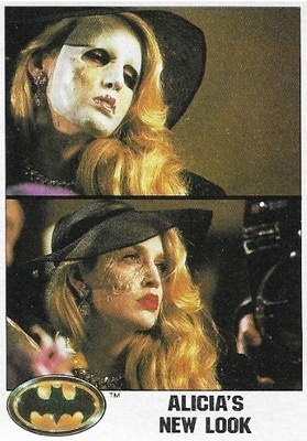 Batman / Alicia's New Look | Topps #71 | Movie Trading Card | 1989 | Jerry Hall