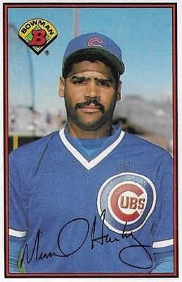 Harkey, Mike / Chicago Cubs | Bowman #286 | Baseball Trading Card | 1989 | Rookie Card