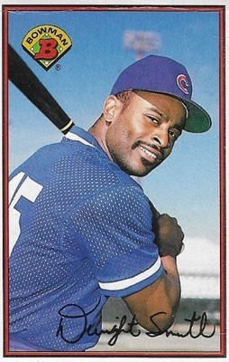 Smith, Dwight / Chicago Cubs | Bowman #297 | Baseball Trading Card | 1989 | Rookie Card