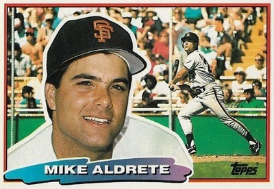 Aldrete, Mike / San Francisco Giants | Topps #119 | Baseball Trading Card | 1988 | Topps Big Series